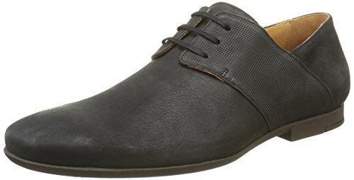 PAUL & JOE Panama, Chaussures Lacées Homme Noir (Nubuck Noir)