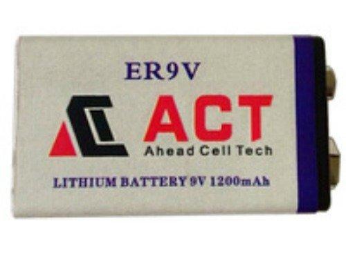 Pile 9V Lithium 1200mAh