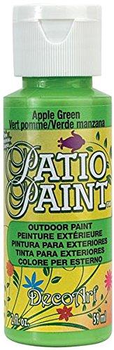 Patio Paint 2oz-Apple Green