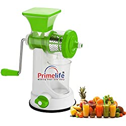 Primelife Modern Fruit and Vegetable Juicer, Green Color (Prime-Green-03)