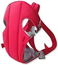 Base Things Deluxe Premium Ultra Comfortable Baby Carrier Baby Sling, Convenient Baby Carriers Slings Backpacks Decompression Strap Red