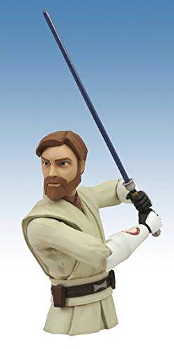 Diamond Select Star Wars Clone Wars Obi-Wan Bust ()