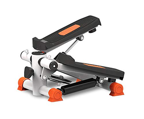 LY-01 Stepper Stepper, Hause Mute Weight Loss Maschine Fitness Sportgeräte Stepping Machine Stovepipe (Farbe : Orange)