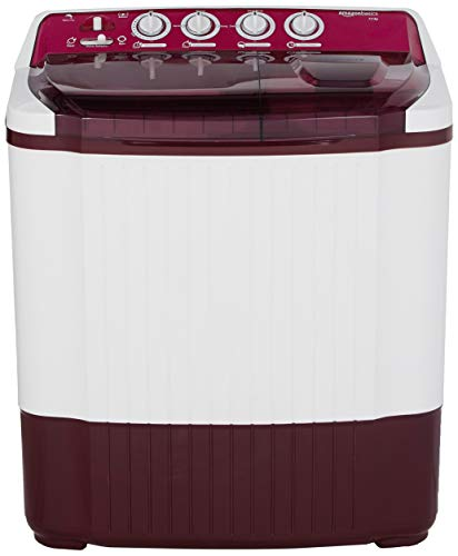 9. AmazonBasics 7.5 kg Semi-Automatic Washing machine