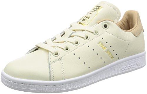 Adidas Damen Stan Smith Sneaker Elfenbein (bianco Sporco / Bianco Sporco / Nudo Pallido)