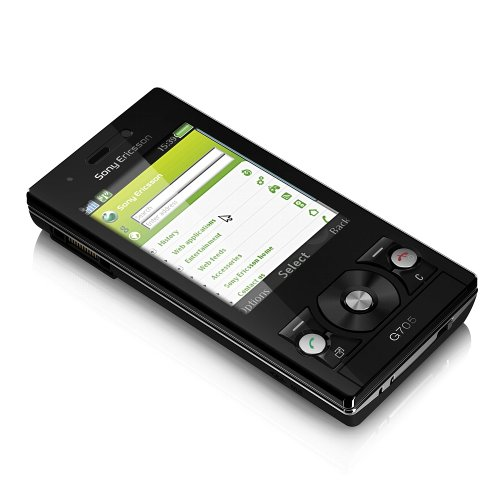 Sony Ericsson G705 Black Handy Sony-ericsson-symbian-software