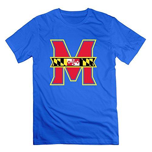 Xy-tee Hombres tripulación cuello Tee Maryland Terrapins