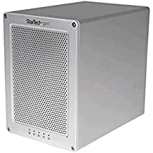 """StarTech.com S354SMTB2R - Caja Thunderbolt 2 con 4 bahías RAID de 3.5"""", con ventilador y cable incluido"""