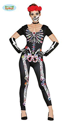 Imagen de disfraz de esqueleto catrina para mujer