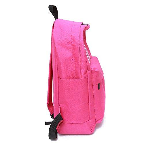 Longra Travel Bag signore zaino Rosa