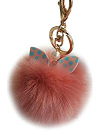 b9063d8863 Sannysis palla di peluche portachiavi borsa auto portachiavi,  Wassermelonenrot, 8 cm