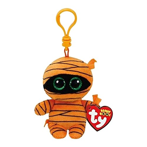 Beanie Boo Mummy - Key clip - orange - 7.5cm 3""
