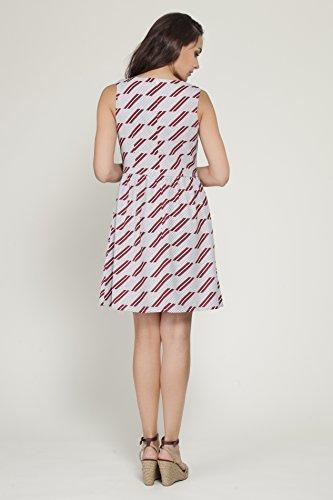 TANTRA Dress9684, Robe Décontractée Femme Rouge