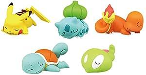Pokemon X.Y 3 Oyasumi Friends Figure~Goodnight Friends~Complete set of 5