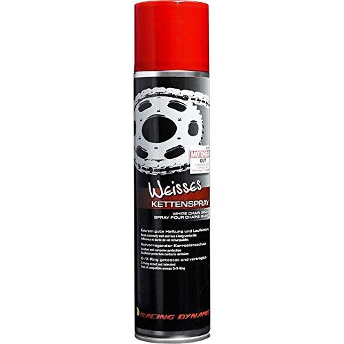 Racing Dynamic Motorrad-Pflegemittel, Motorrad-Kettenpflege Weißes Kettenspray 400 ml, Multipurpose