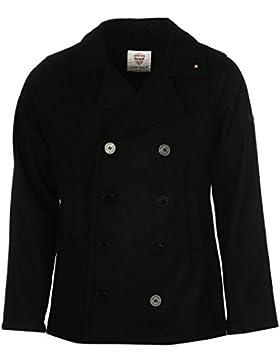 Pyramid International–Cuadro enmarcado, diseño de pavo real chaqueta para hombre color negro chaquetas abrigos...