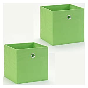 Idimex Stoffbox Faltbox Aufbewahrungsbox Einschubkorb Regalbox Ela