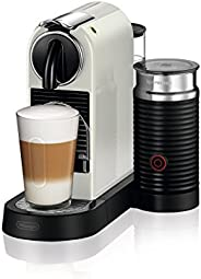 Delonghi Nespresso EN267 WAE Citiz kapselmaskin – Krämvit (ljusgrå)