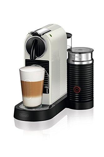 De'Longhi Nespresso EN267.WAE Citiz Kaffemaschine | Hochdruckpumpe und perfekte Wärmeregelung  | Energiesparfunktion | Integrierter Aeroccino-Milchaufschäumer | creme-weiß - Individuelle Kaffee-pakete