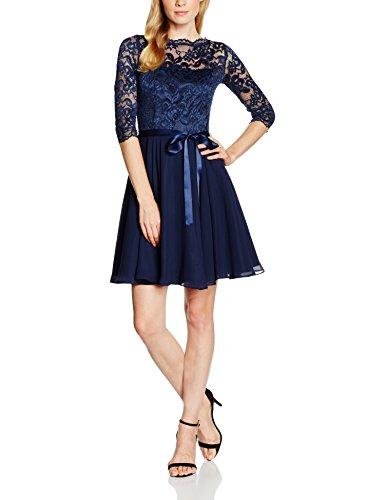 Swing Vestido Fiona Mujer, Azul (Marine), 38