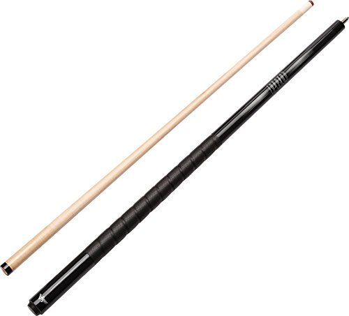 Cues Pool Metallic (Viper Revolution Sure Grip Pro 58 2-Piece Billiard/Pool Cue, Metallic Black, 18 Ounce by Viper by GLD Products)