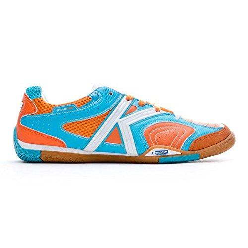 Kelme , Chaussures pour homme spécial foot en salle - Azul-Naranja