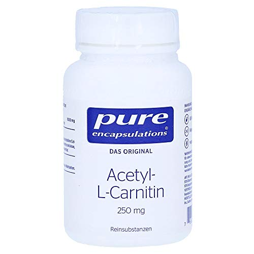 Acetyl-l-Carnitin 250mg 60 Kapseln pure encapsulations -