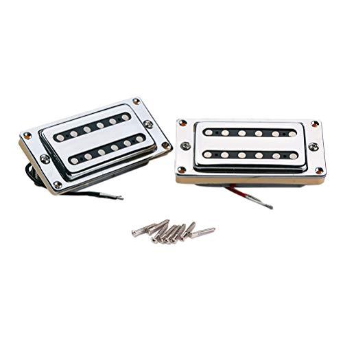 Healifty 2 stücke gmc06 Gitarre versiegelt humbucker Pickups Pick-ups dual Coil für lp elektrische Guitars mit montageschrauben -