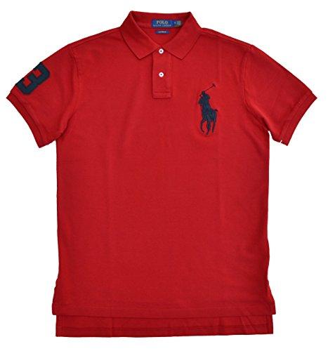 Ralph Lauren Poloshirt Big Pony Polo Rot (XL) -