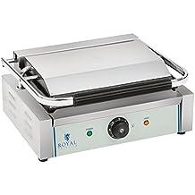Royal Catering - RCKG-2200-G - Piastra panini - 1 x 2.200 Watt