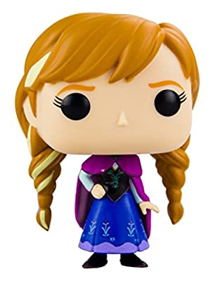 Funko - Bobugt080 - Figurine Animation - Reine De Neige - Frozen - Bobble Head Pop 81 Anna