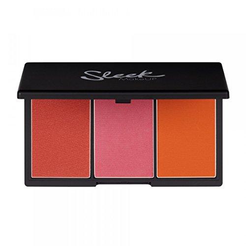 Sleek MakeUP Blush by 3 Palette Pumpkin 20g - Red Powder Blush