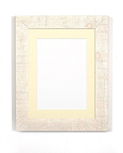 white-with-ivory-mount-shabby-chic-rustic-wood-grain-picture-photo-frame-with-a-high-clarity-styrene