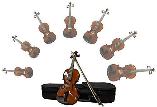 Sinfonie24 Geige/ Violine für Kinder/Schüler aus Hamburger Geigenbau Manufaktur 3/4 (Basic I)