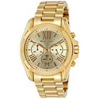 Michael Kors Women's Quartz Watch, Analog Display and Stainless Steel Strap MK5605