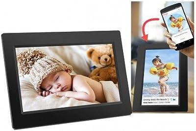 DenverdigitalWiFi-Bilderrahmen 17.8 cm 7 Zoll PFF-710 Black 1024 x 600 Pixel 8 GB negro