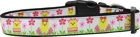 Mirage Pet Products 125–259MD Spring Chicken Nylon Hundehalsband, Medium (Chicken Harness)
