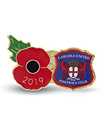 The Royal British Legion Carlisle Poppy Football Pin 2019