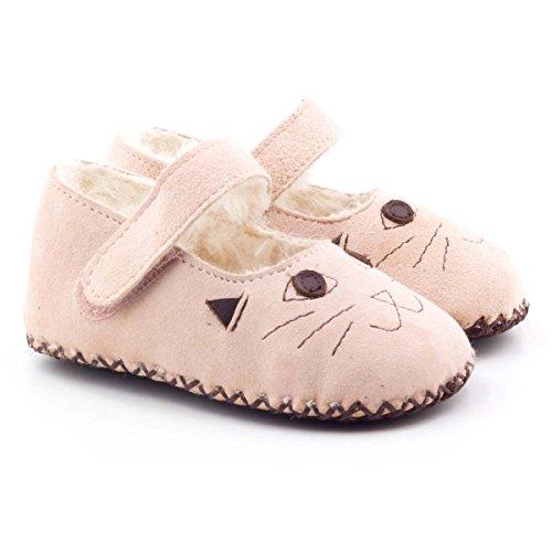 Boni Cat - chaussons bébé fourrés