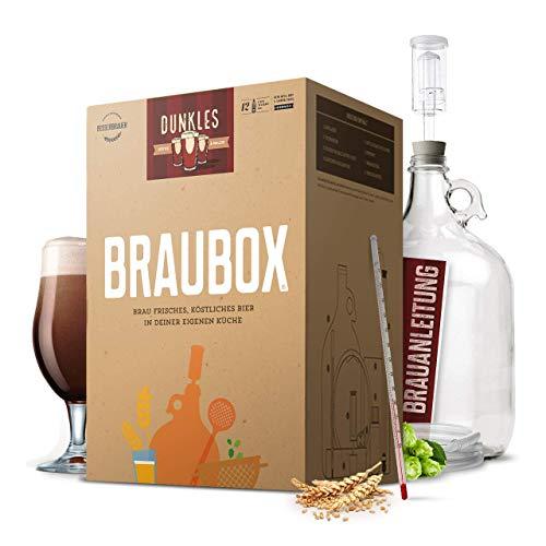 Braubox®, Sorte Dunkles | Bierbrauset zum Bier brauen in der Küche | mit Erfolgsgarantie von Besserbrauer