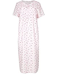 Marks & Spencer Per Una Nightdress Size 14 100% Cotton Women's Clothing