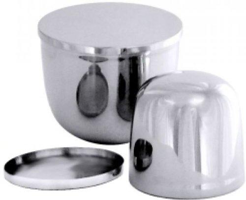 Contacto Edelstahl Cassata Eisform 0,5 l mit Deckel