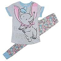Disney Womens Cotton Rich Novelty Dumbo Long Pyjamas UK Size 8-22