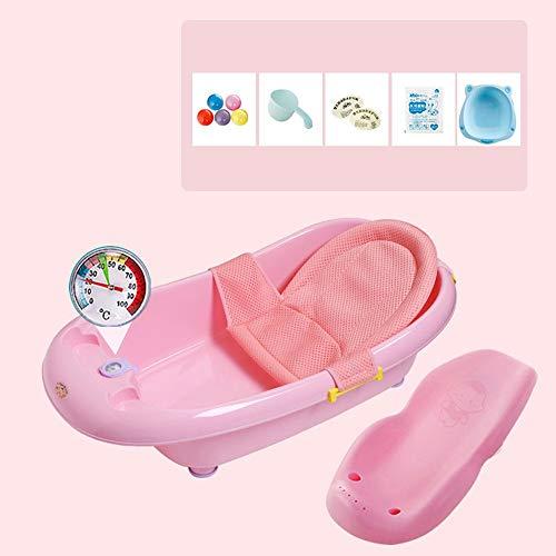 Sdzq Vasca da Bagno per Bambini Fornisce Vasca da Bagno per Bambini (Color : Pink3)
