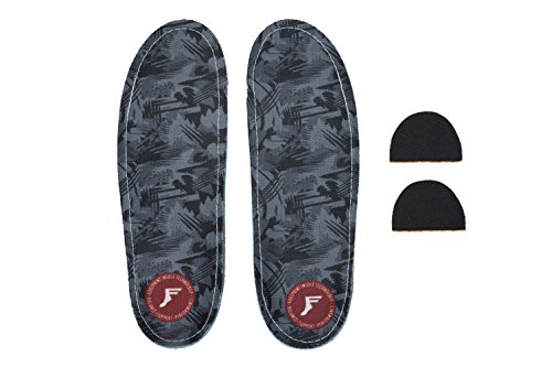 Fußabdruck Innensohle Technologie Custom Orthopädische kingfoam Gamechanger Einlagen Dark Camo Graphic 9/9,5