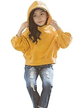 Mädchen Kapuze Pullover Kleinkind Kinder Baby Mädchen Kleidung Sweatershirt Pullover Tops T-Shirt Blusen Kleidung...
