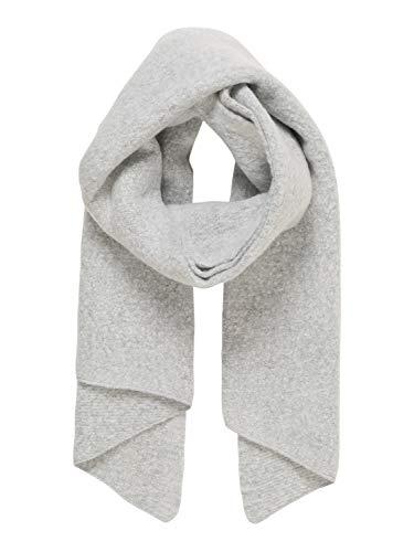 Vero Moda NOS Damen VMNOA Long Scarf NOOS Schal, Grau Light Grey Melange, (Herstellergröße: One Size)