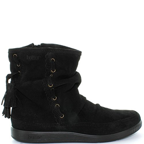 Hotter - 7204-30 PIXIE (Black suede) 8