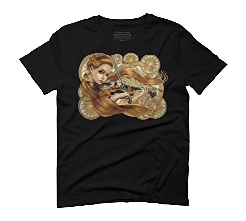 Autumn Sounds Men's Graphic T-Shirt - Design By Humans Black