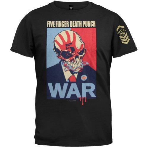 Five Finger Death Punch War T-Shirt Black